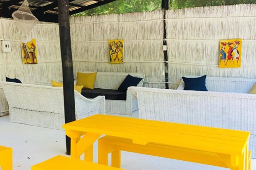 Tierras del Mar Luxury Tented camp lounge 2